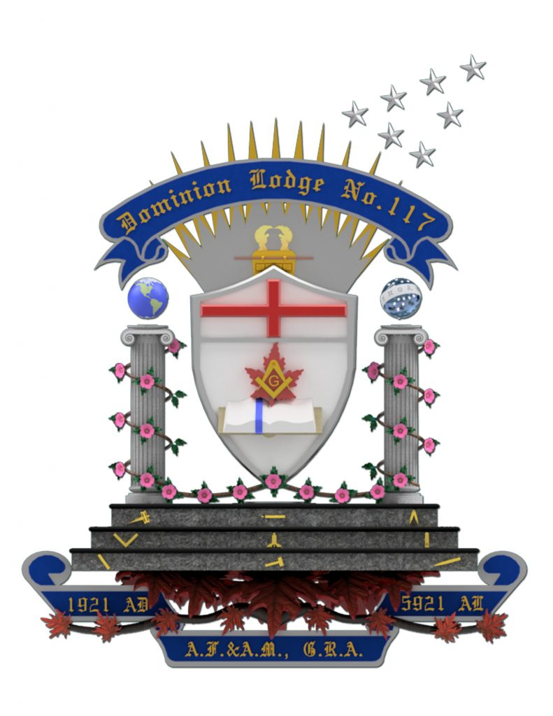 Dominion Lodge Standard - Edmonton Freemasons