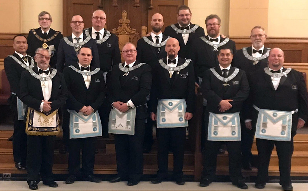 Dominion Lodge Officers - Active Freemasons