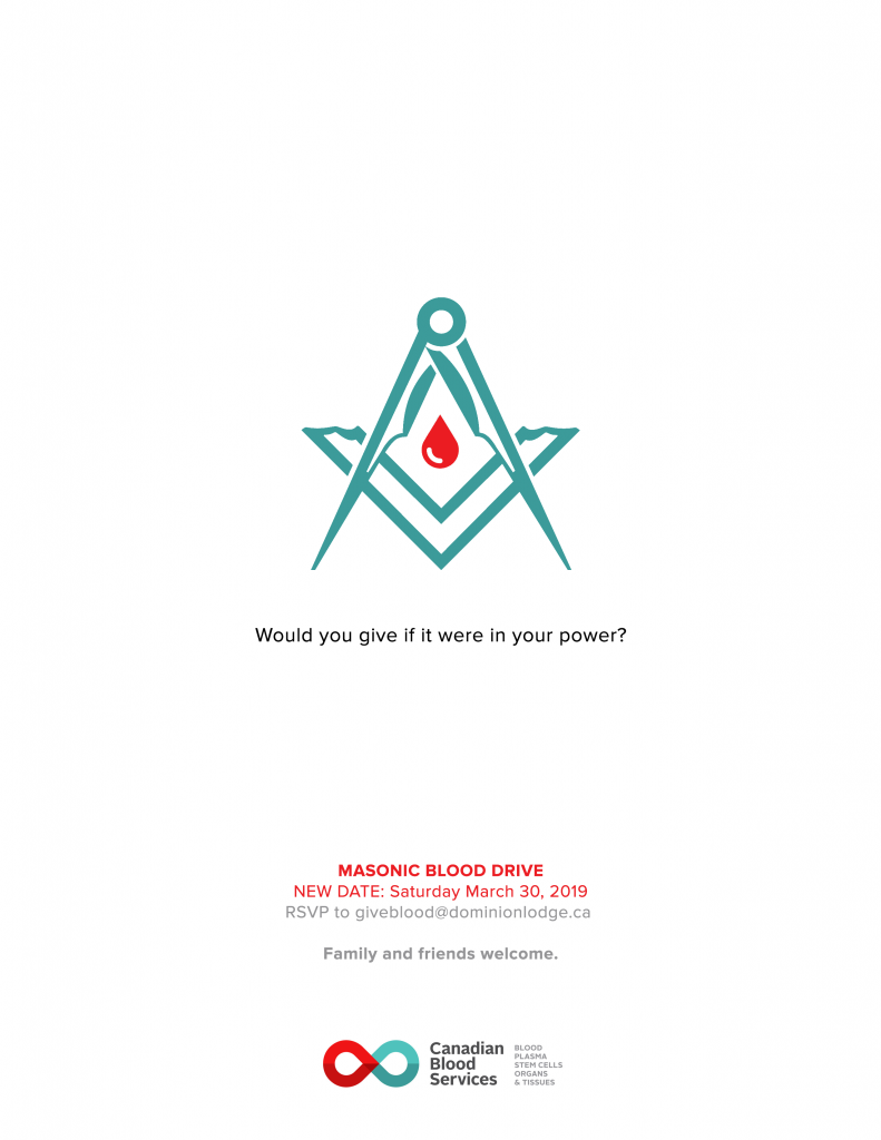 Masonic Blood Drive - March 2019