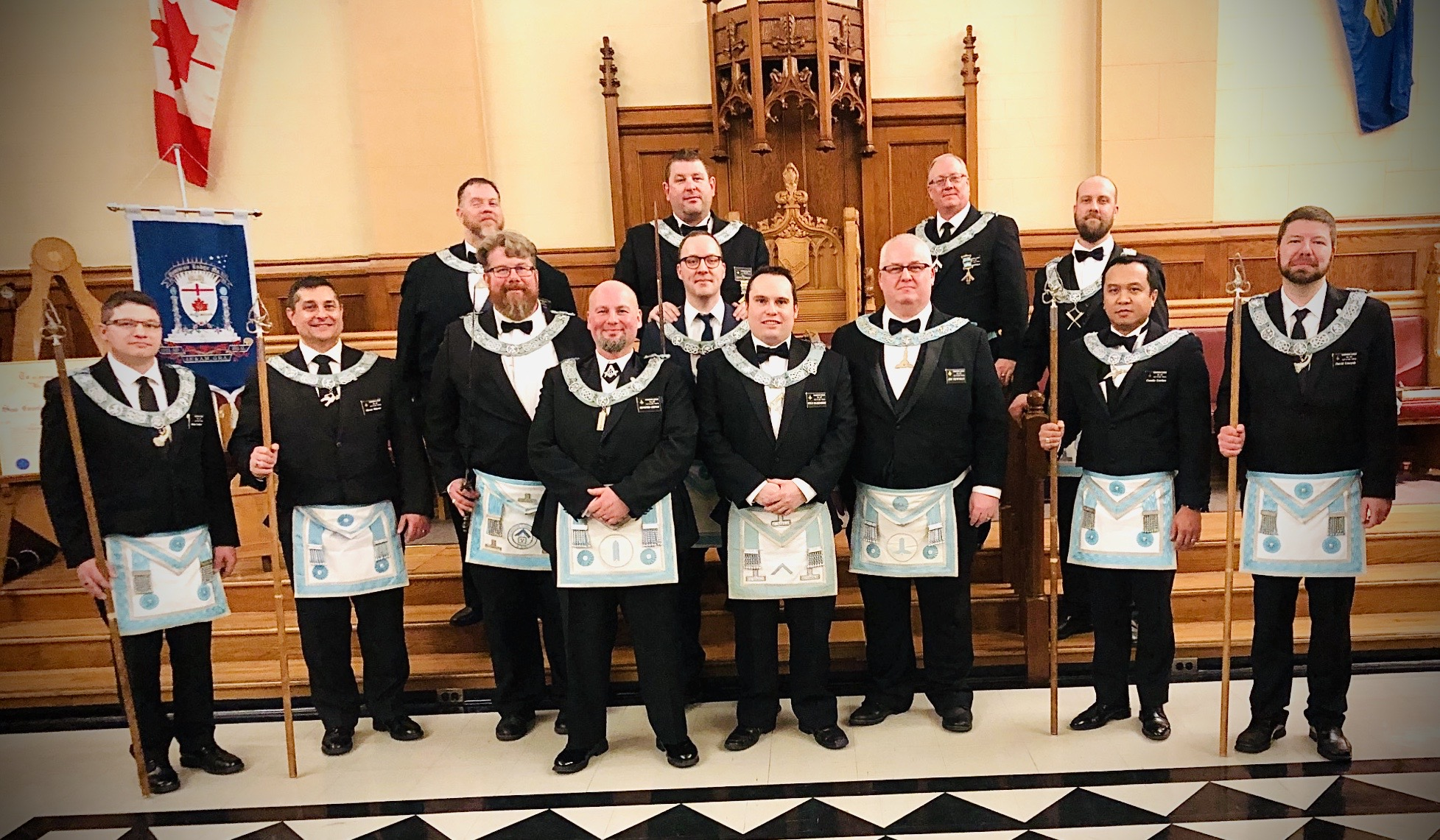 Dominion Lodge Officers 2020